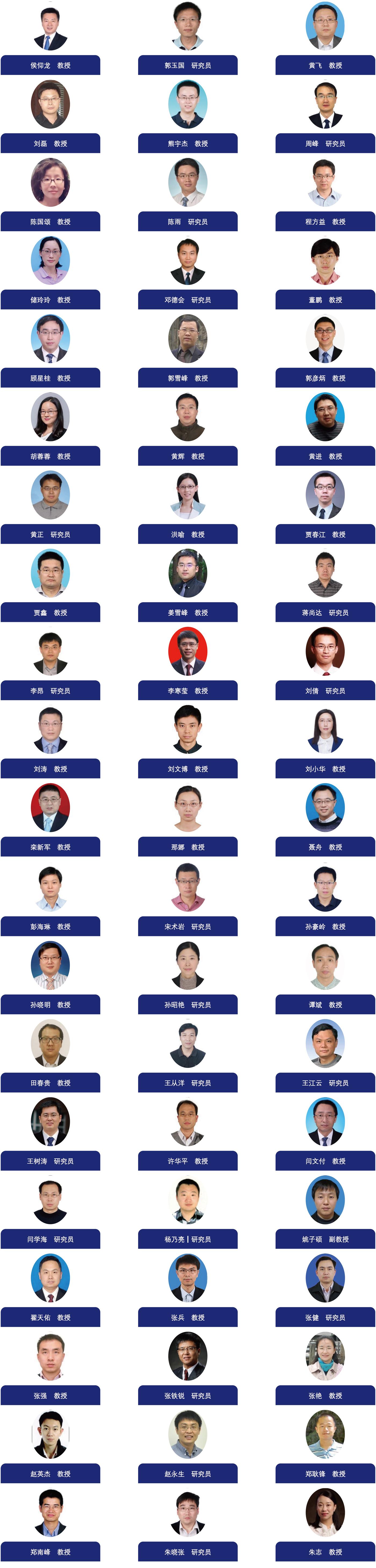 中国化学会青年化学工作者委员会成员